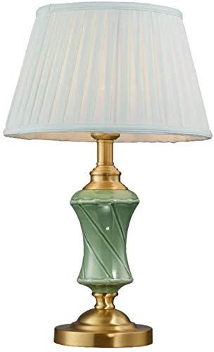 Moderne chinesische Art Tischleuchten Schreibtischlampen Keramik-Lampen mit Stoff Lampenschirm E27 Beleuchtung Oriental asiatischen Handpainted chinesische Vase Lampen-Schreibtisch-Licht-Schlafzimmer-