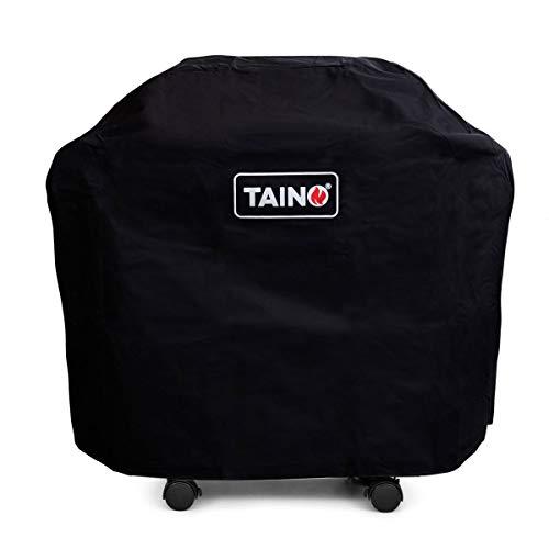 TAINO 4-Brenner Gasgrill Abdeckung Grillhaube Abdeckhaube Wetterschutz für Platinum Black RED