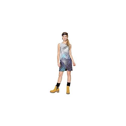 Desigual Vest_Ohio Vestido, (Navy 5000), Medium para Mujer