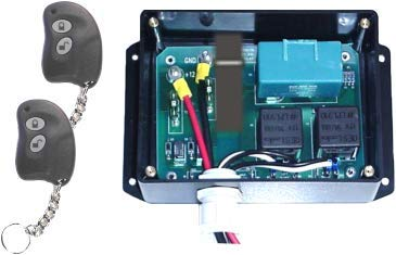 PLRB-RC Relay Controller with keyless Entry, Remote, fob (2) for Power Lock and Security