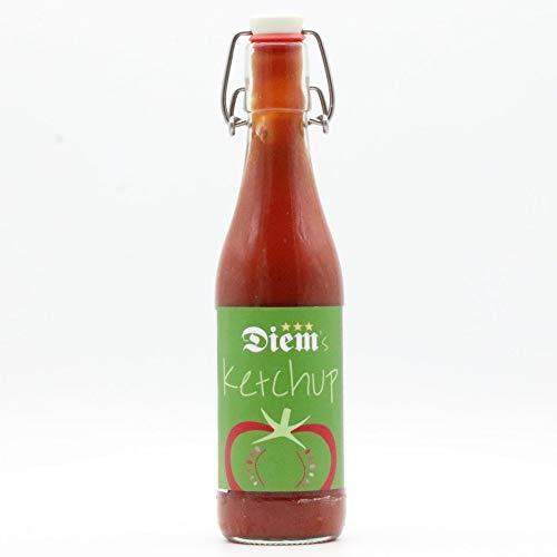 Diem Ketchup 330g Glasflasche Retro, Tomatenketchup, Grillsauce, Tomatensoße, Currysoße, Grilldip, Grillen