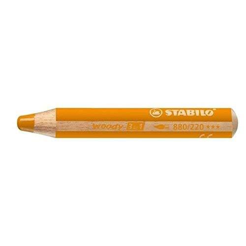 Aquarellfarbstift woody orange