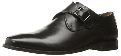 Florsheim Men's Montinaro Single Monk Dress Shoe Slip On , Black, 11 D US