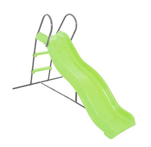 AIRWAVE 6ft Wavy Kids Plastic Slide for the Garden & Outdoors