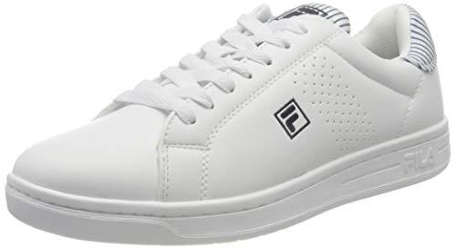 FILA Crosscourt 2 NT wmn zapatilla Mujer, blanco (White/White/Navy), 38 EU