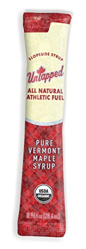 UnTapped Maple Syrup Athletic Fuel Maple Box of 20 96 FL OZ PACKETS