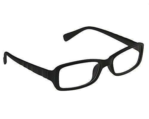 Unisex RectangularPlain Glasses Women Men Reading Glasses Classical...