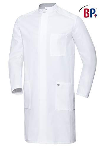 BP 1751-130-0021-48n Arztkittel für Männer, Langarm, Arm-Lift-System, 205,00 g/m² Reine Baumwolle, weiß,48n