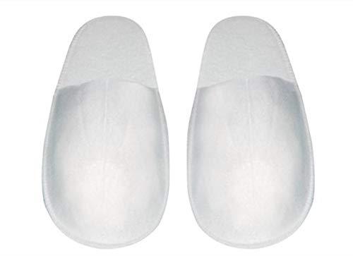 BRENTA SRL Pantofole Chiuse in Spugna Eva 10 Paia Ciabatte Cotone