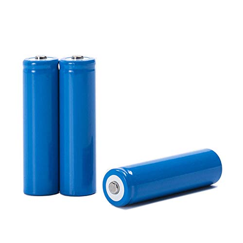 4pcs 18650 3.7v 2000mah icr18650 Rechargeable Battery with Pointed (Without PCB) for 18650 li-ion...
