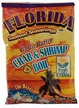 Florida Seafood Seasonings Crab & Shrimp Boil Garlic Butter 5 oz (2 Pack)