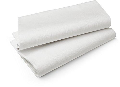 Duni Tischdecken aus Evolin 127x220cm weiss, 5 Stück