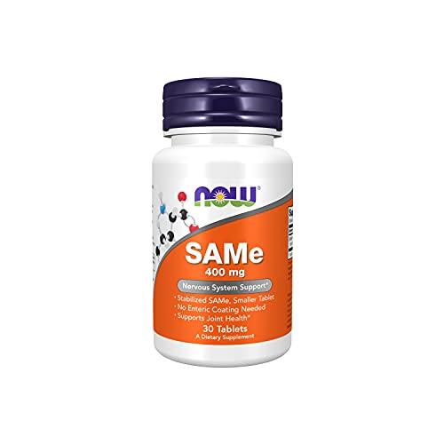 NOW Foods - SAM-e Entérico Revestido 400 mg. - 30 comprimidos
