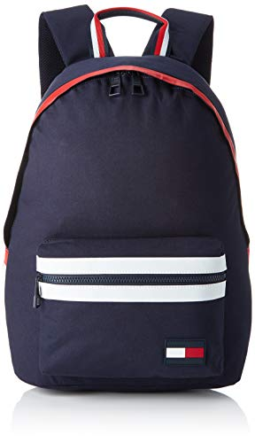 Tommy Hilfiger heren Tommy Backpack Pop rugzak, blauw (Corporate), 15x43x30 cm