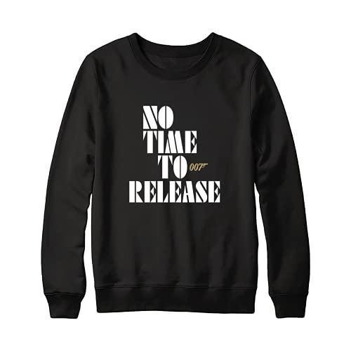 No Time To Release 007 Funny Shirt – Jámés Bónd 007 No Time To Diiiee Sweatshirt For Men – Shirt For Women Córónávírús Against Handmade Shirt Customize S Sweatshirt 5020