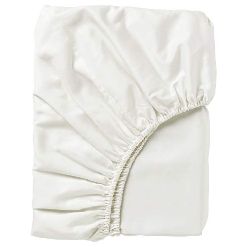 NATTJASMIN sábana bajera ajustable 180x200 cm blanco