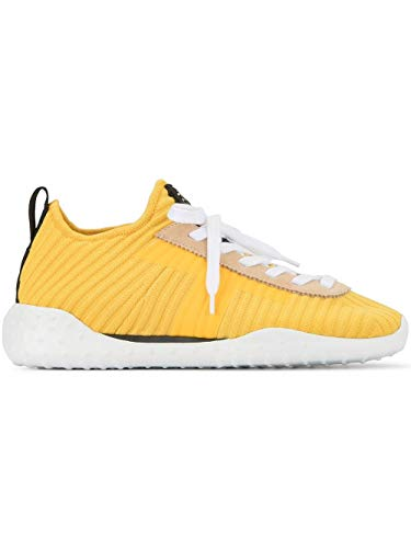 Tod's Luxury Fashion Damen XXW14B0AC71J9E9991 Gelb Wildleder Sneakers | Jahreszeit Outlet