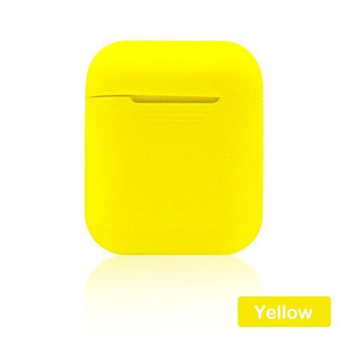 Auriculares inalámbricos amarillos - Airpods