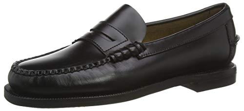 Sebago Classic Dan W, Women's 7001530 Loafers (Black 902) 2.5 UK Donna, 35 EU