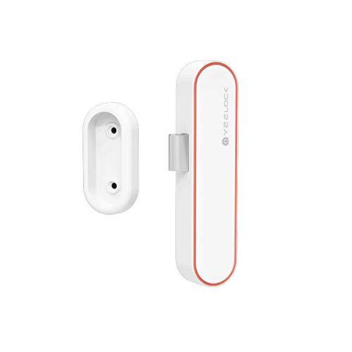 Cerradura de cajón Yeelock, Bluetooth 5.1 App Contrrol para teléfono móvil, gabinete de archivos oculto, cerradura antirrobo inteligente