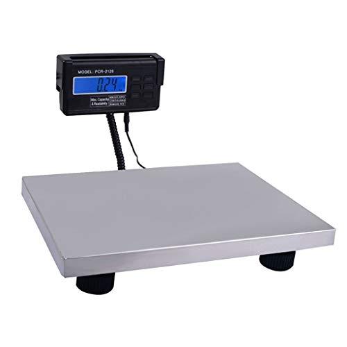 LBBL Báscula Digital, Acero Inoxidable Escala Postal Sistema De Sensor Alta Precisión 300kg/0.1kg Función De Tara Smart Digital Báscula para Hostelería Bollería Frutería (Size : 150kg/0.05kg)