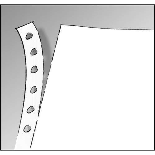 91100 Endlospapier 1fach, 12 Zoll x 240 mm (A4 hoch), 60 g, 2000 Blatt LP