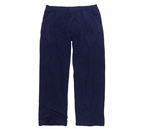 ADAMO Freizeithose – Jogginghose in dunkelblau, in großen Größen von 3XL - 12XL