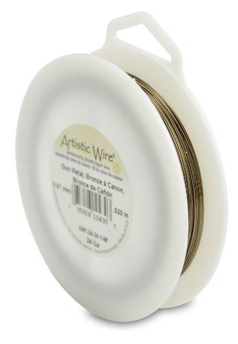 Artistic Wire 24-Gauge, Antique Brass, 1/4 Pound