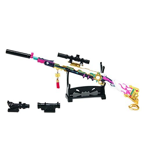 JDYDDSK Blaster Toy Set Pistolas para niños, Pistolas de Blaster Kids con Mini Box, 98K Aleación Colección Modelo Pistola para Adultos, Los Mejores Regalos de cumpleaños de Navidad,with airdrop Box