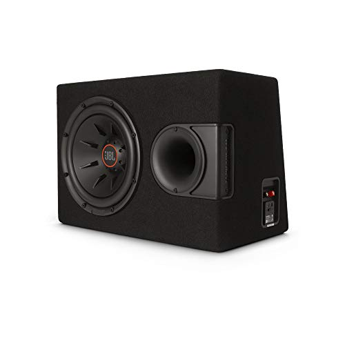"""JBL S2-1224 - 12"""" Subwoofer with enclosure and SSI (Selectable Smart Impedance) switch from 2 to 4 ohm, Black (S2-1224SS)"""