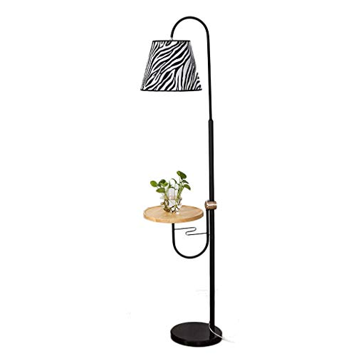 Lámpara de pie Lámpara de pie nórdica Lámpara de sofá de Sala de Estar retráctil Lámpara de Noche de Dormitorio Lámpara de Mesa de Centro Lámpara de pie Vertical Creativa Americana Simple