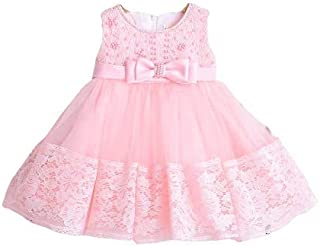 K-19 Birthday Special Princess Dresses pearls beaded with beautiful broach Party Wedding Lace Full Dresses for Girls
