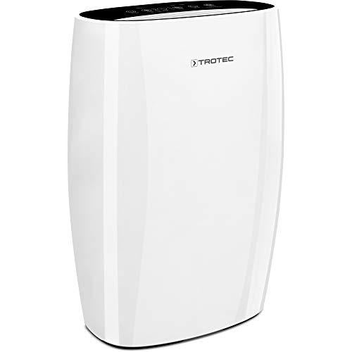 TROTEC Luftreiniger AirgoClean 150 E mit HEPA-Filter Ionisator für saubere Raumluft bis 42 m²/105 m³, entfernt 99,97% aller in der Raumluft befindlichen Schadstoffe, Reinigungsvolumen max. 355 m³/h