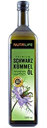 Black Cumin Oil • cold pressed • 100% all-natural and natural • !! UNFILTERED !! • 1000ml • Fresh guarantee: daily fresh from the mill directly from the manufacturer Kräuterland natural oil mill