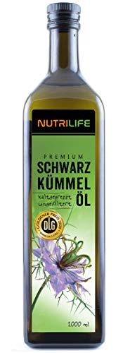Schwarzkümmelöl • kaltgepresst • 100% naturrein und naturbelassen • !! UNGEFILTERT !! •...