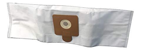 Staubsaugerbeutel für ECOLAB Flormatic Bluevac 11, ARGOS 142, ARGOS 1414, CLEANFIX S10, CLEANFIX S12.- 5 Beutel aus Mikrofaser