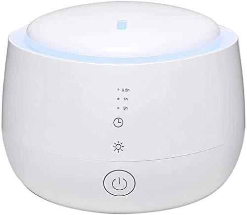 YBQ Humidificador, difusor de niebla, portátil, ultrasónico, 7 colores de repuesto LED, purificador silencioso, utilizado en el coche, dormitorio, oficina