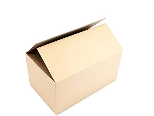 Pack de 20 Cajas Mudanzas Grandes | Medidas 50x30x30 cm en Material...