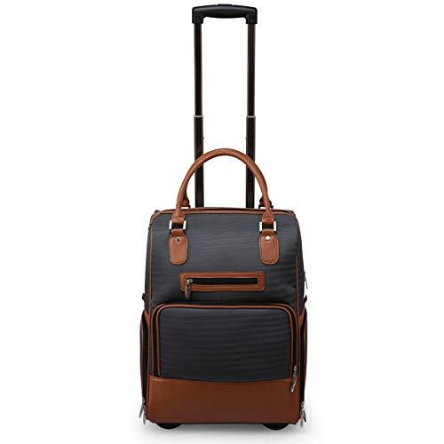 RLQ Golfschuh-Taschen, Nylon-Reisetaschen Mit Großer Kapazität, Trolley Wheel Clothing Bags, Herrengeschenke