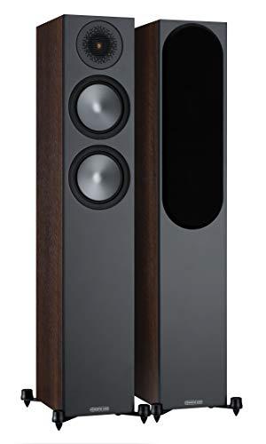Monitor Audio Bronzo 200 - coppia di altoparlanti da pavimento in colore noce