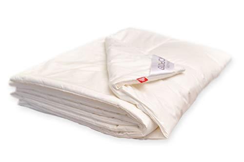 Ganzjahresdecken von BluTimes - Hanf aktiv - Baumwolle mit Hanffaser u. G-Loft® Faser - Naturfaser - Bettdecke - Zudecke, Größe:140x220
