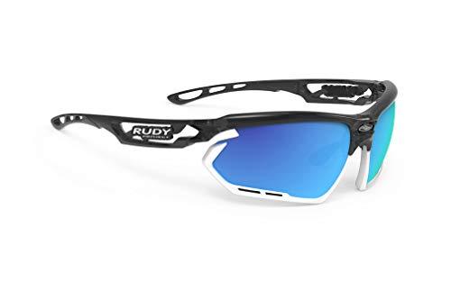 Rudy Project Fotonyk Brille Crystal Graphite - rp Optics multilaser Blue 2021 Fahrradbrille
