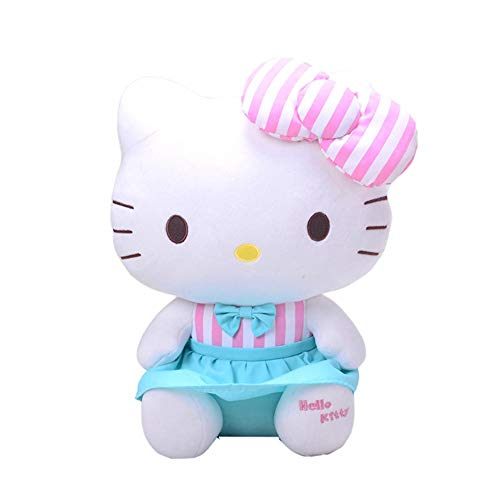 CYFCXK Hello Kitty Molly KT Cat Llush Toy Gato Boda Muñeca Creativa,A,25CM