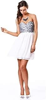 Seduce - Shimmering Sea Dress (1211SW4207 - Nectarine Size 6)