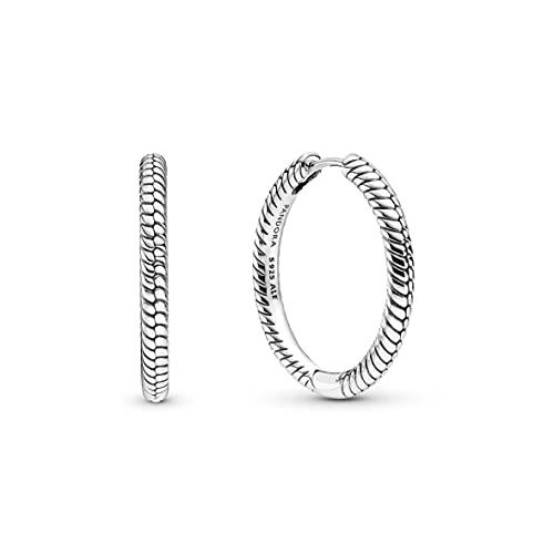 Pandora Moments - Pendientes de plata de ley de la colección Moments