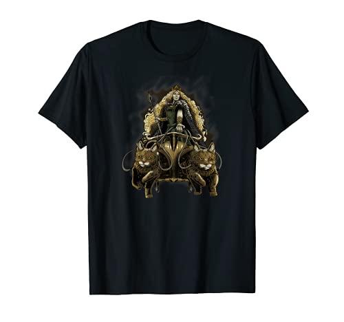 Freya - Medieval Viking Mythology - Norse Paganism Asatru Camiseta