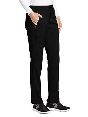 Grey's Anatomy Impact 7228 Women's Elevate Scrub Pant Black M Tall