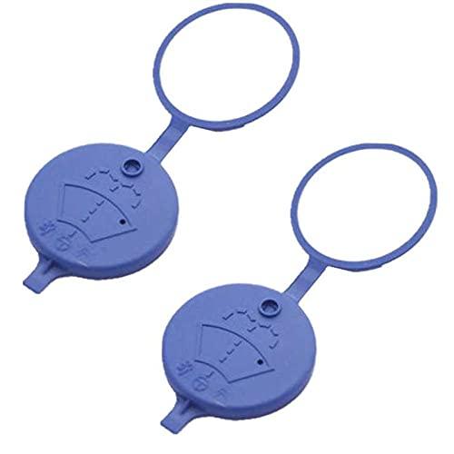 ZhiDuoXing 2 Piezas de plástico de plástico Wiper Warter Washer Bottle Cap/Fit para -C2 Xsara Picasso Peugeot 307 206 408 / (Color : 2pcs)
