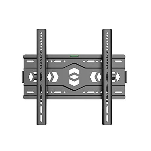 Soporte de pared para TV de ángulo ajustable, adecuado para la mayoría de televisores de pantalla plana LED, LCD, OLED de 26-65 40-80 pulgadas, soporte de montaje fijo ultrafino, peso de hasta 100-1