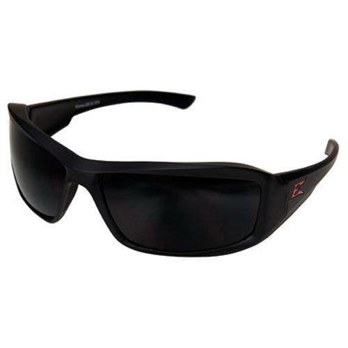 Edge TXB236 Brazeau Torque Polarized Wrap-Around Safety Glasses, Anti-Scratch, Non-Slip, UV 400, Military Grade, ANSI/ISEA & MCEPS Compliant, 5.04